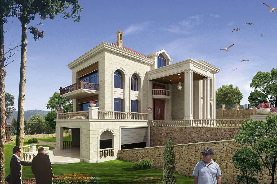 Archvilla for Modern house lebanon